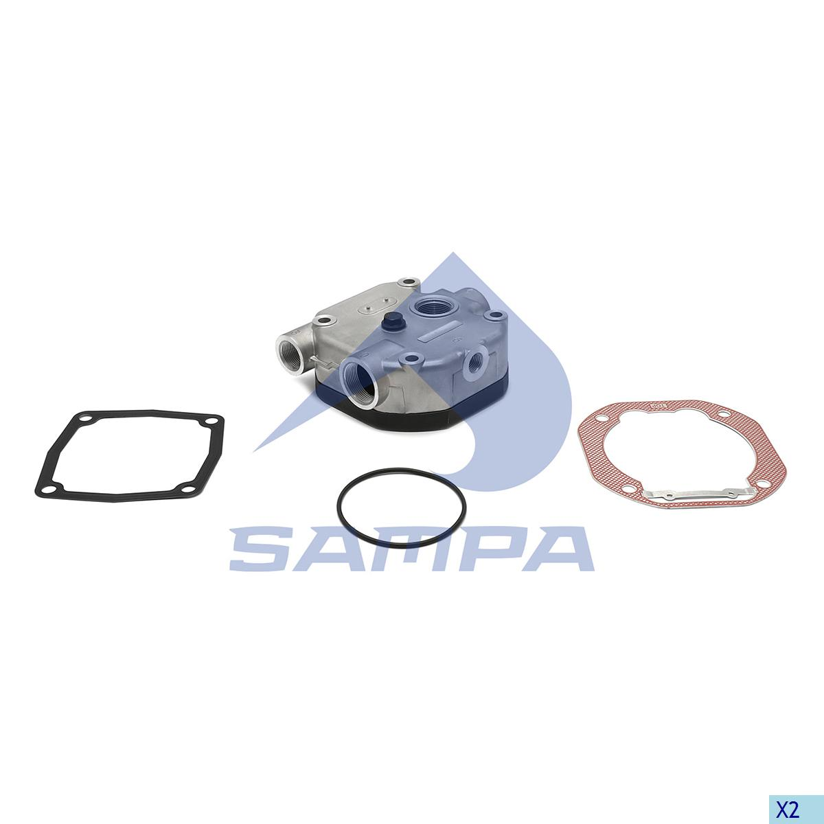 Cylinder Head, Mercedes, Compressed Air System