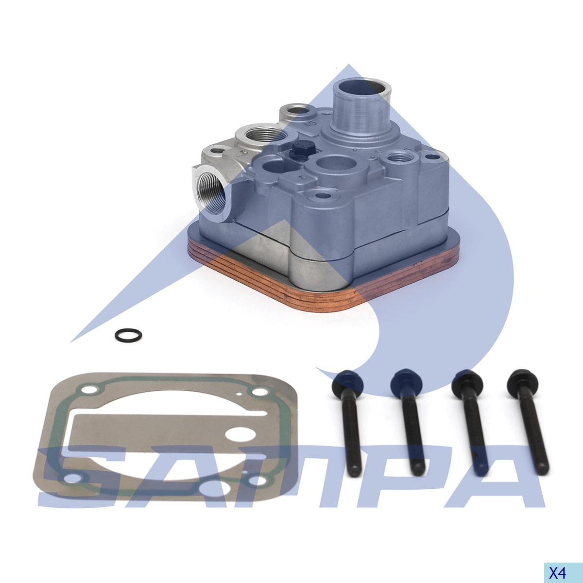 Cylinder Head, Man, Compressed Air System