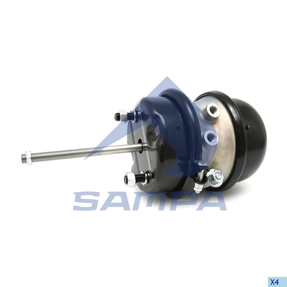 Double Diaphragm Brake Chamber, Daf, Brake