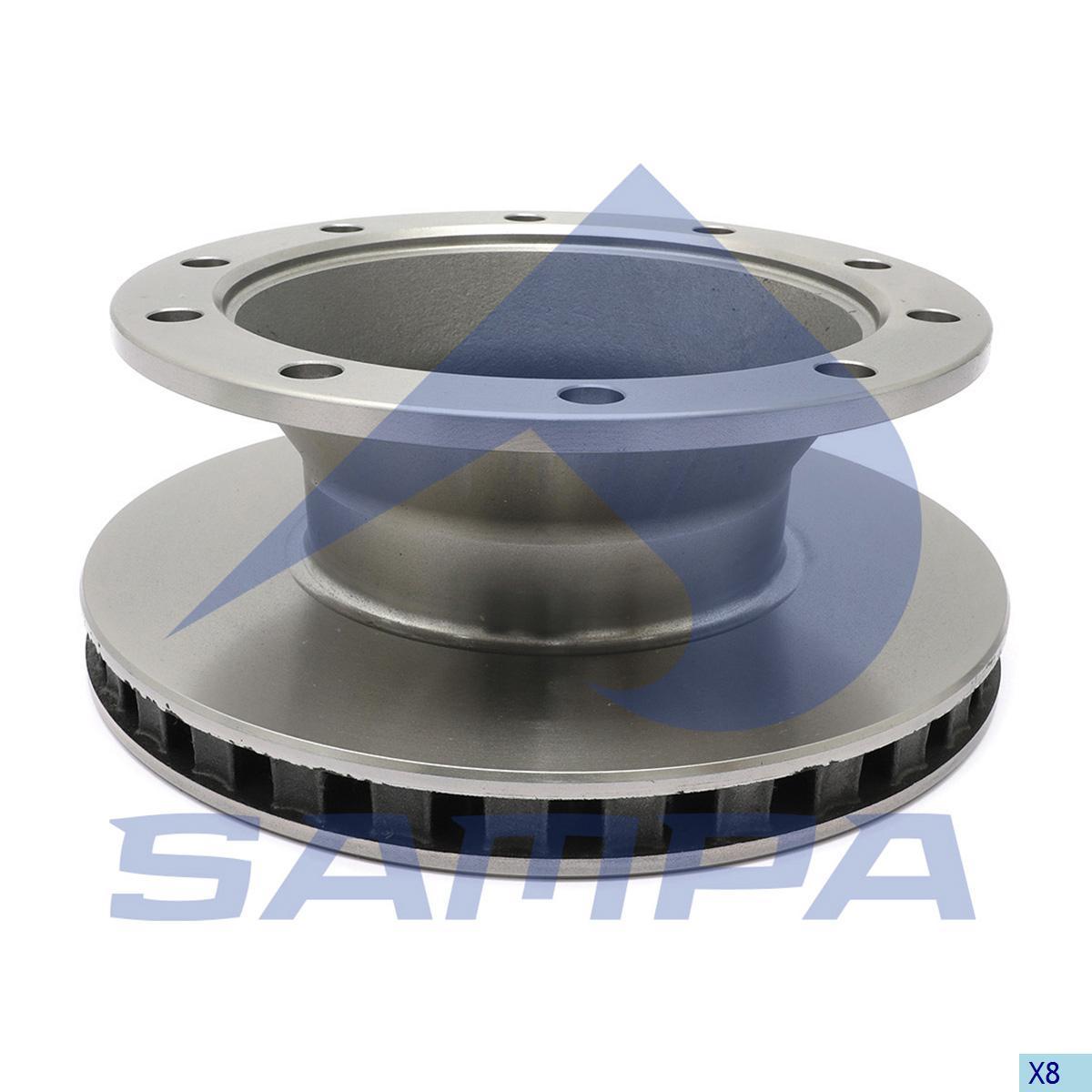 Brake Disc, Schmitz, Brake