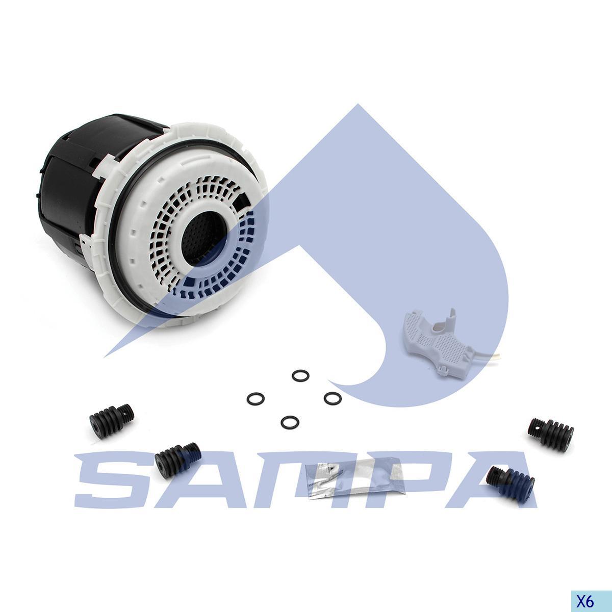 Air Dryer Cartridge, R.V.I., Compressed Air System