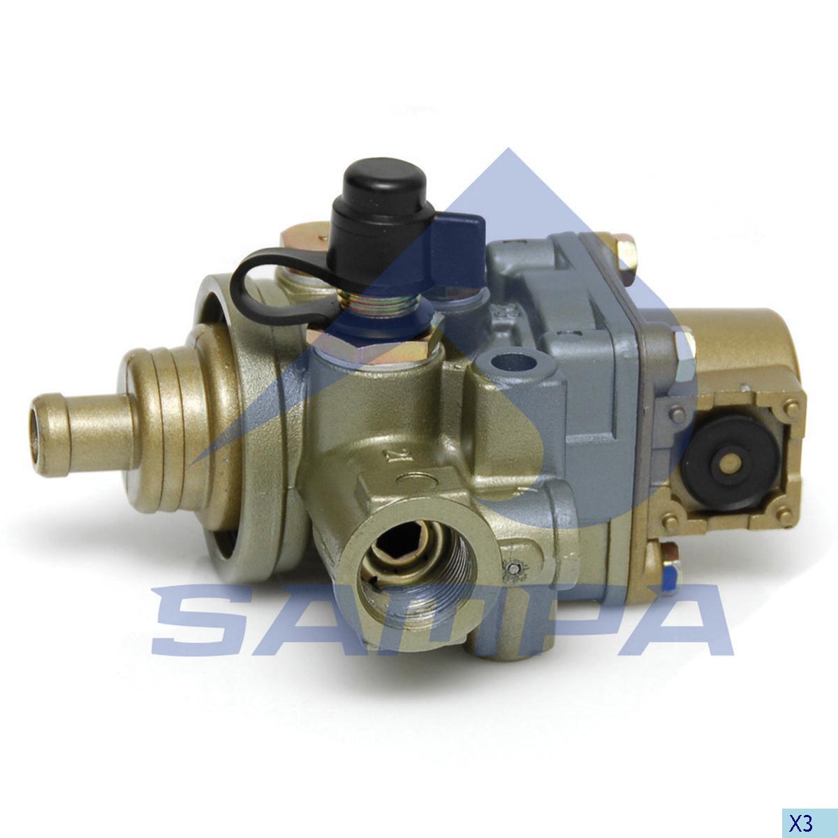 Pressure Control Valve, R.V.I., Compressed Air System