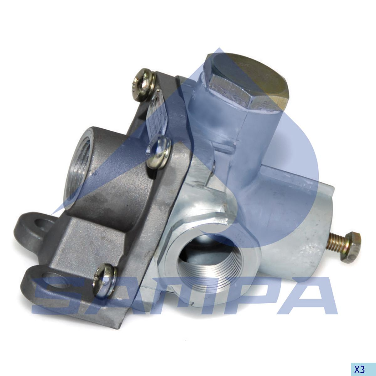 Adaptor Valve, Bergische, Compressed Air System