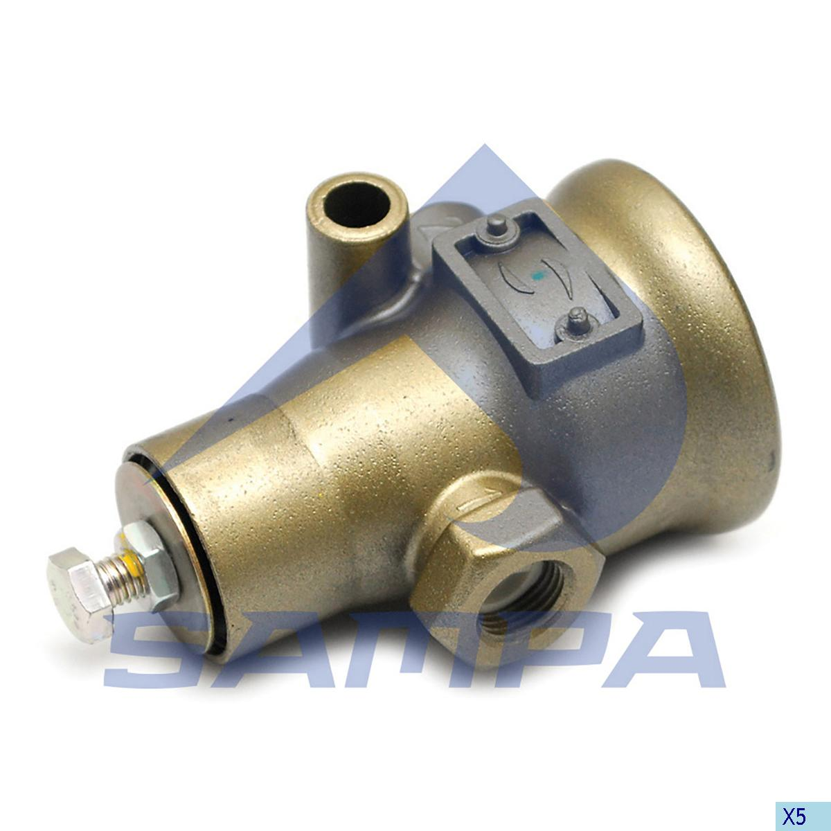 Pressure Control Valve, Scania, Compressed Air System