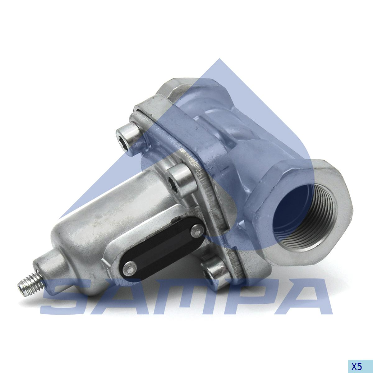 Overflow Valve, Mercedes, Compressed Air System