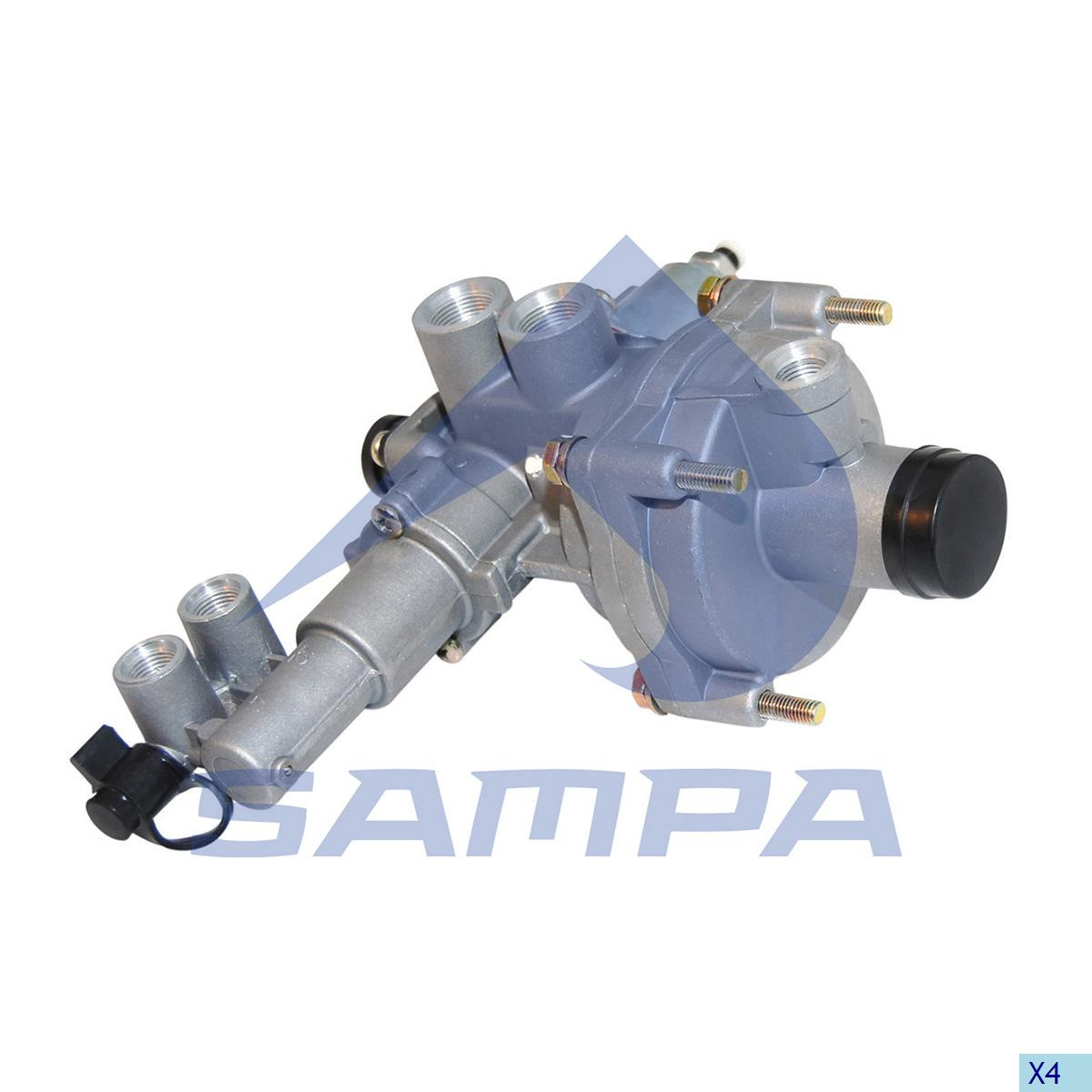 Brake Pressure Regulator, Daf, Compressed Air System