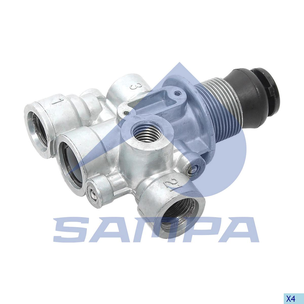 Multiway Valve, Mercedes, Compressed Air System