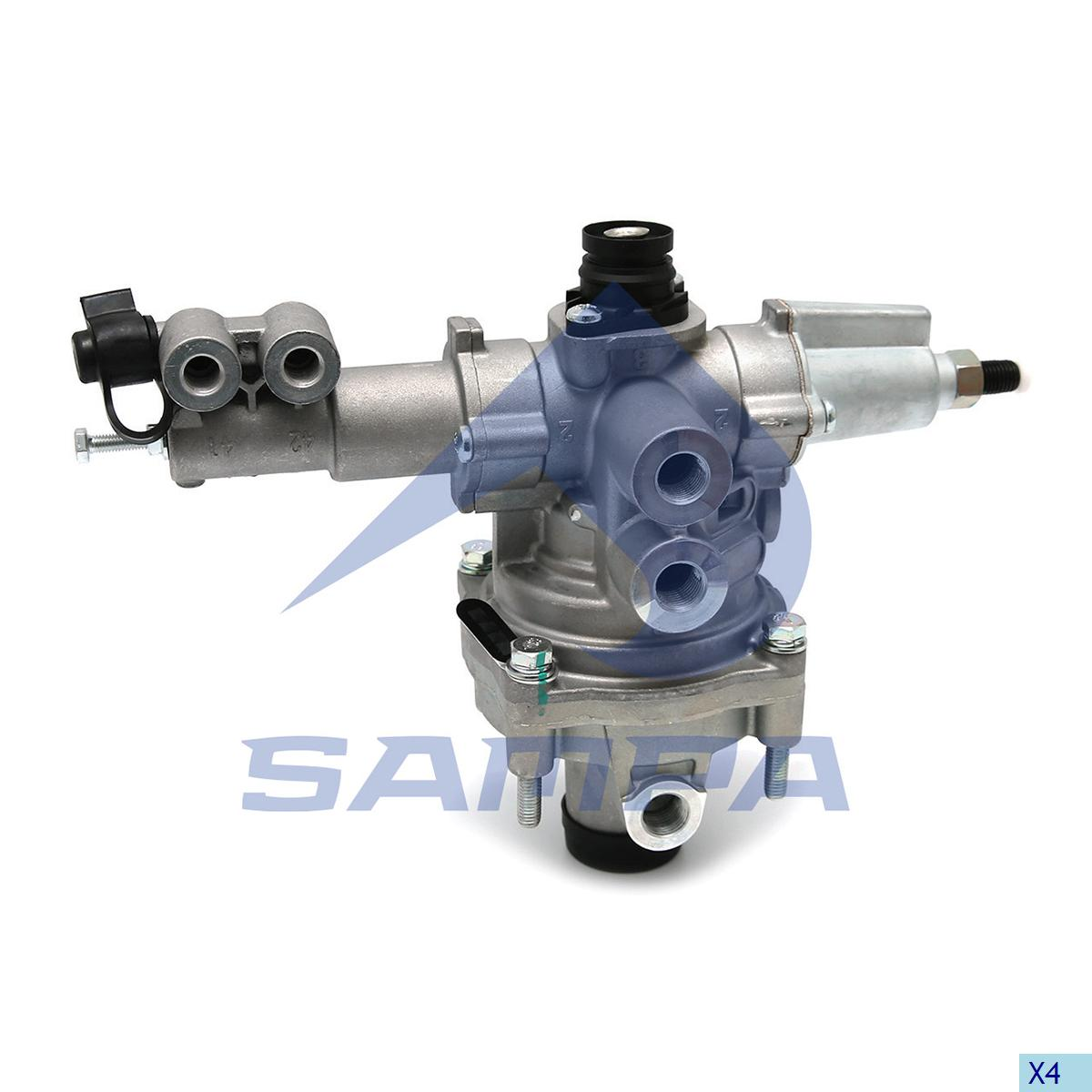 Brake Pressure Regulator, Man, Compressed Air System