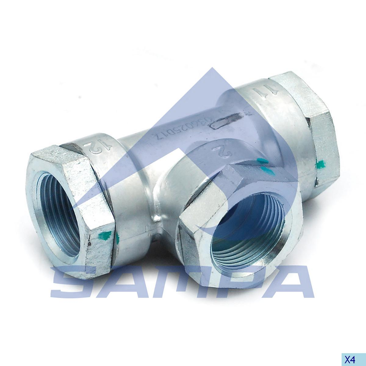 Check Valve, Bergische, Compressed Air System