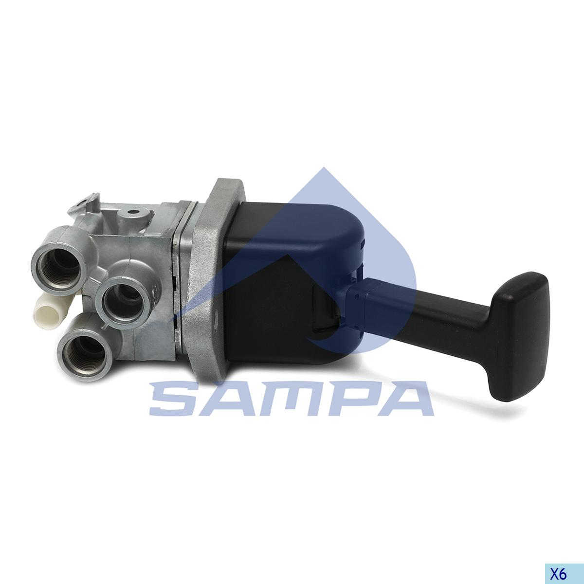 Hand Brake Valve, Mercedes, Compressed Air System