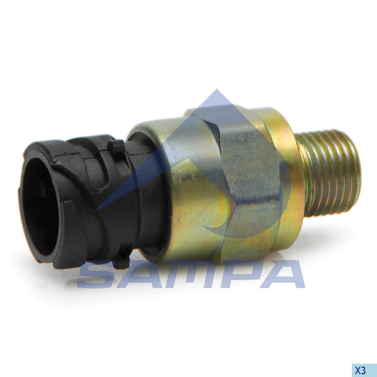 Pressure Sensor, Volvo, Electric System