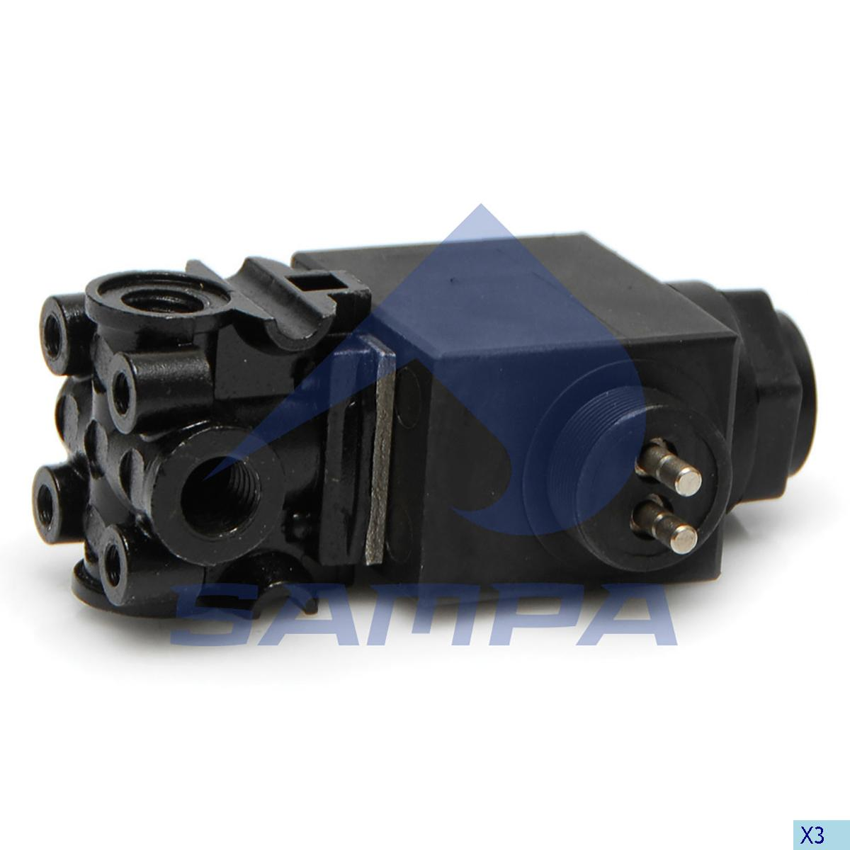Solenoid Valve, Scania, Compressed Air System