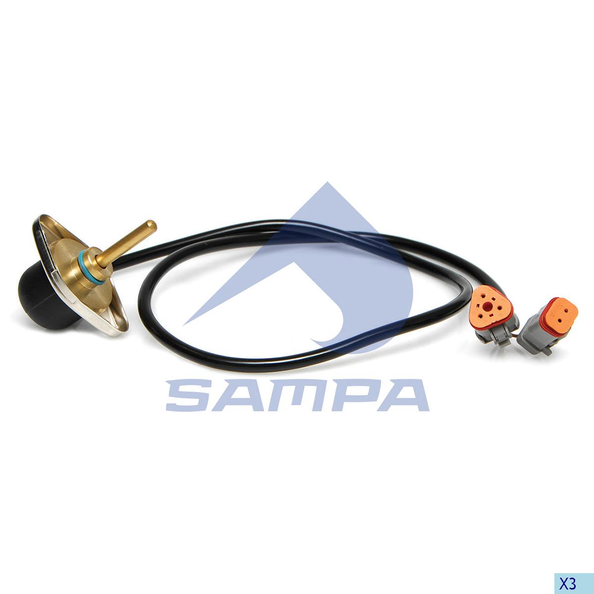 Pressure Sensor, Scania, Electric System