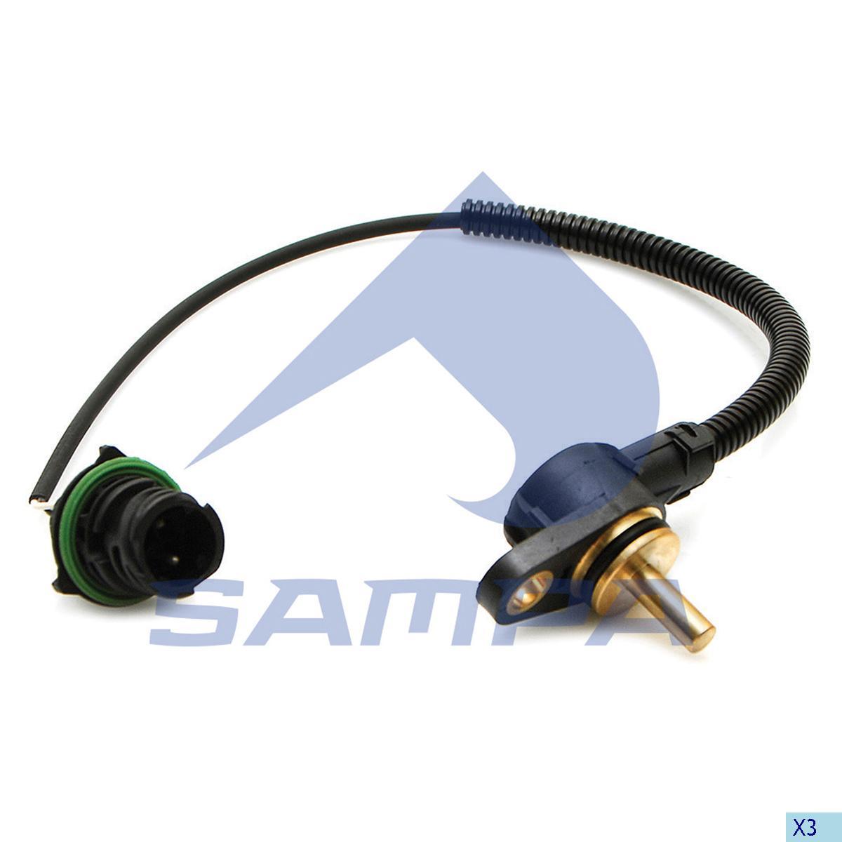 Temperature Sensor, Volvo, Electric System