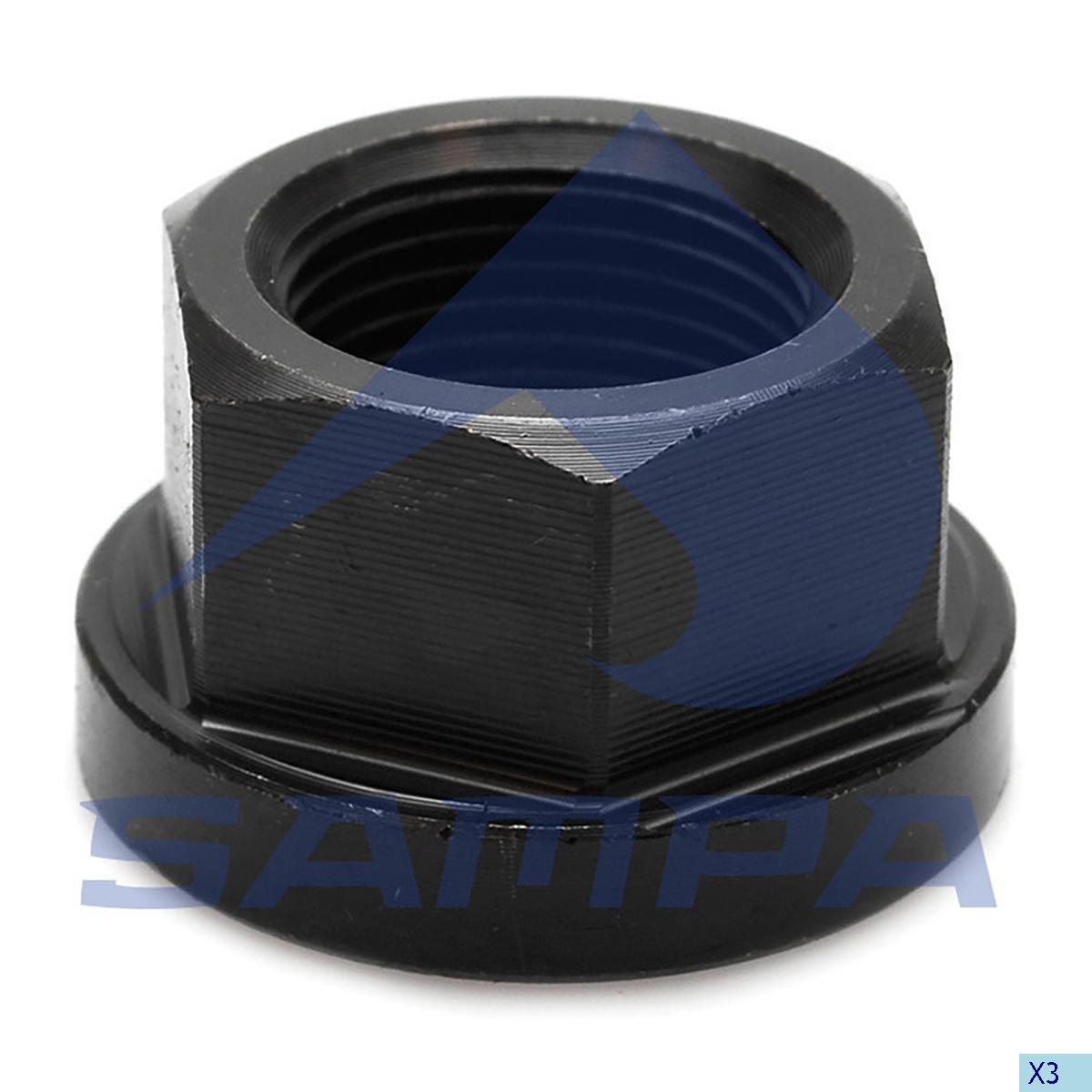 Nut, Cylinder Block, Volvo, Compressed Air System