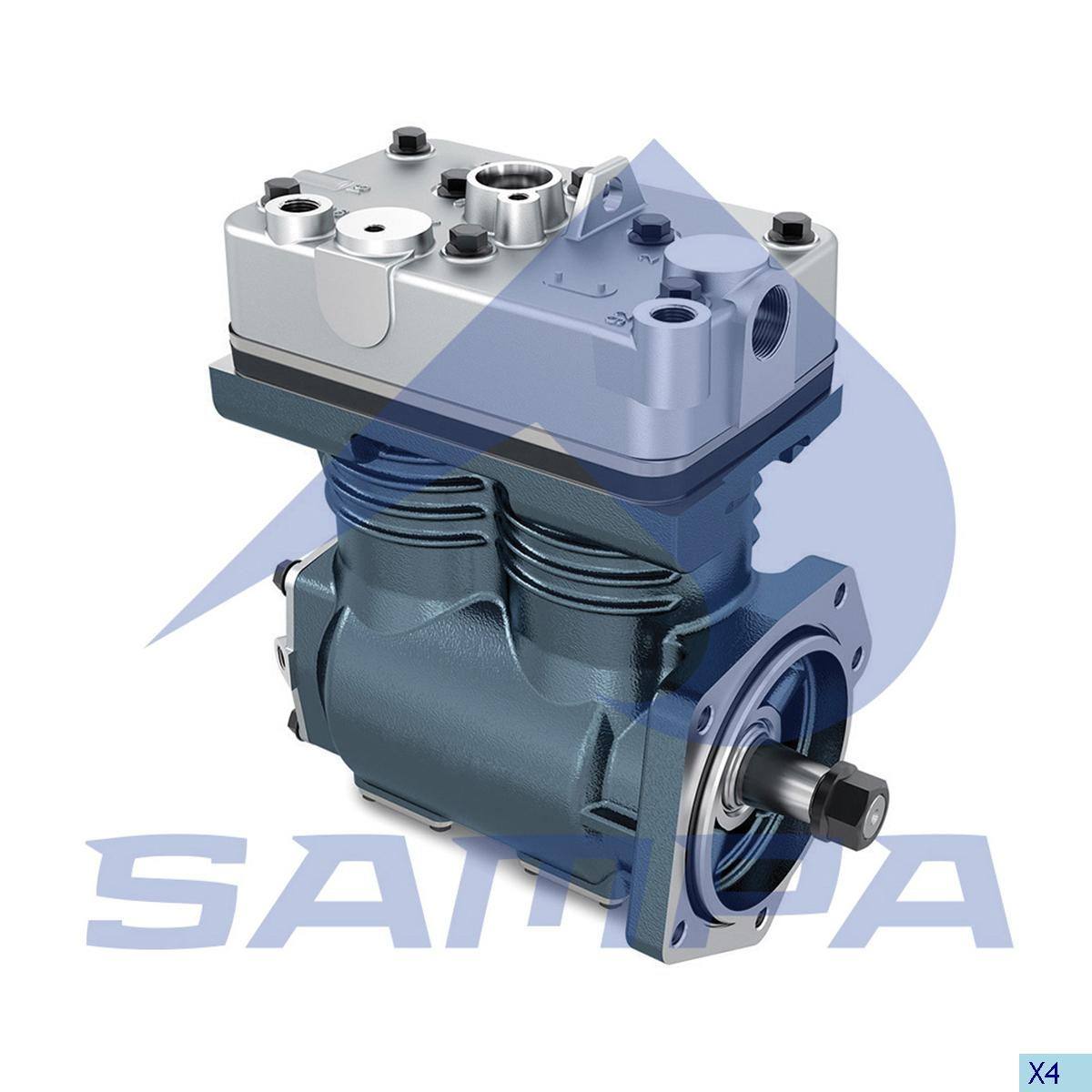 Compressor, Volvo, Compressed Air System