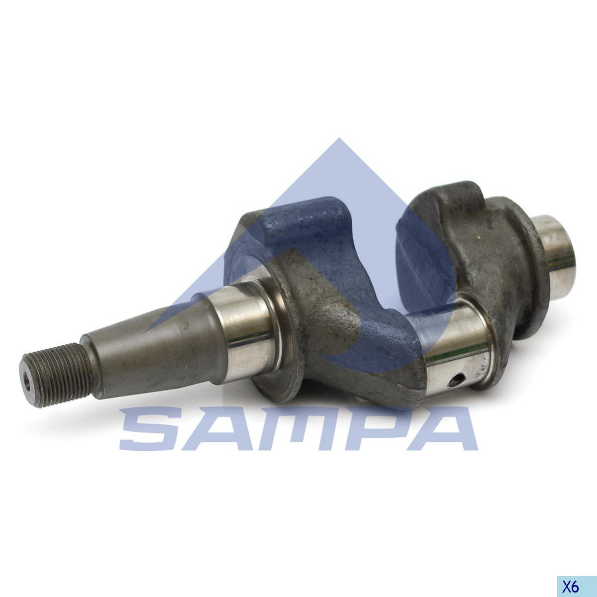 Crank Shaft, Cylinder Block, Volvo, Compressed Air System