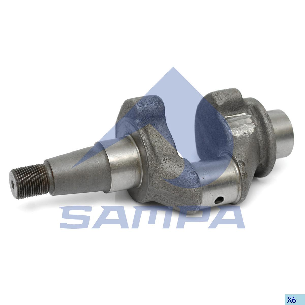 Crank Shaft, Cylinder Block, Volvo, Compressed Air System