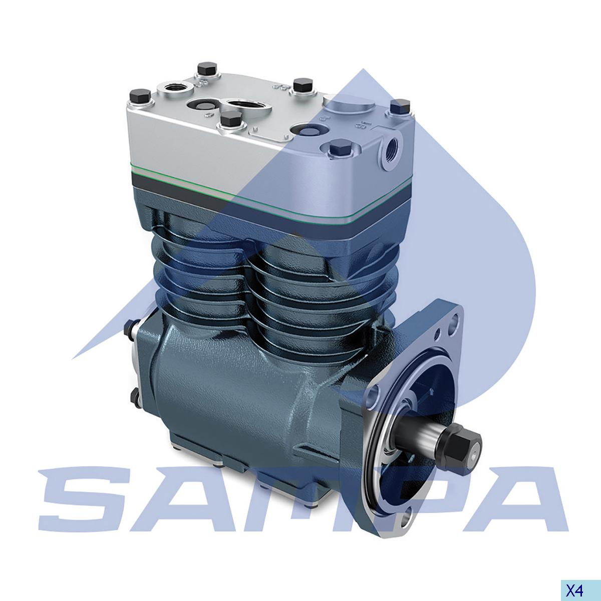Compressor, Scania, Compressed Air System