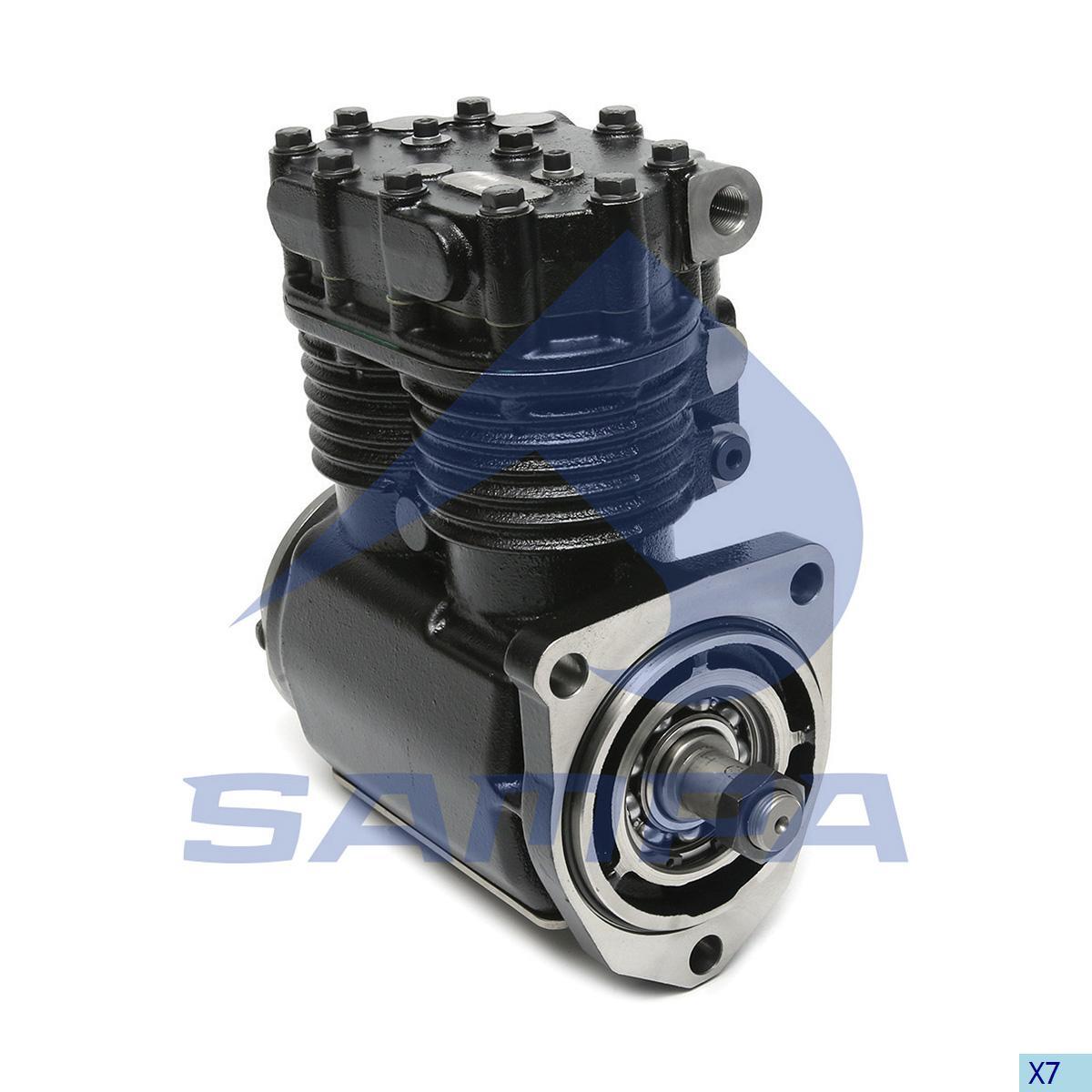 Compressor, Scania, Compressed Air System