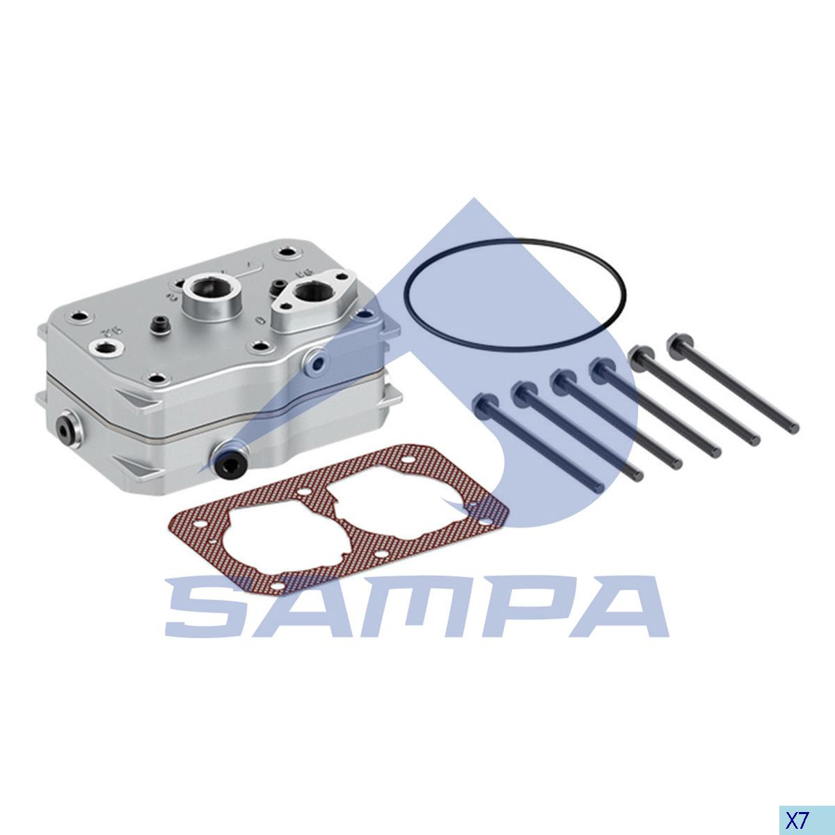 Cylinder Head, Daf, Compressed Air System
