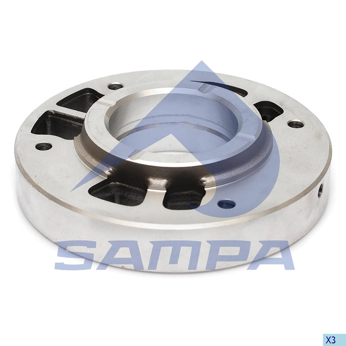 Cover, Cylinder Block, Daf, Compressed Air System