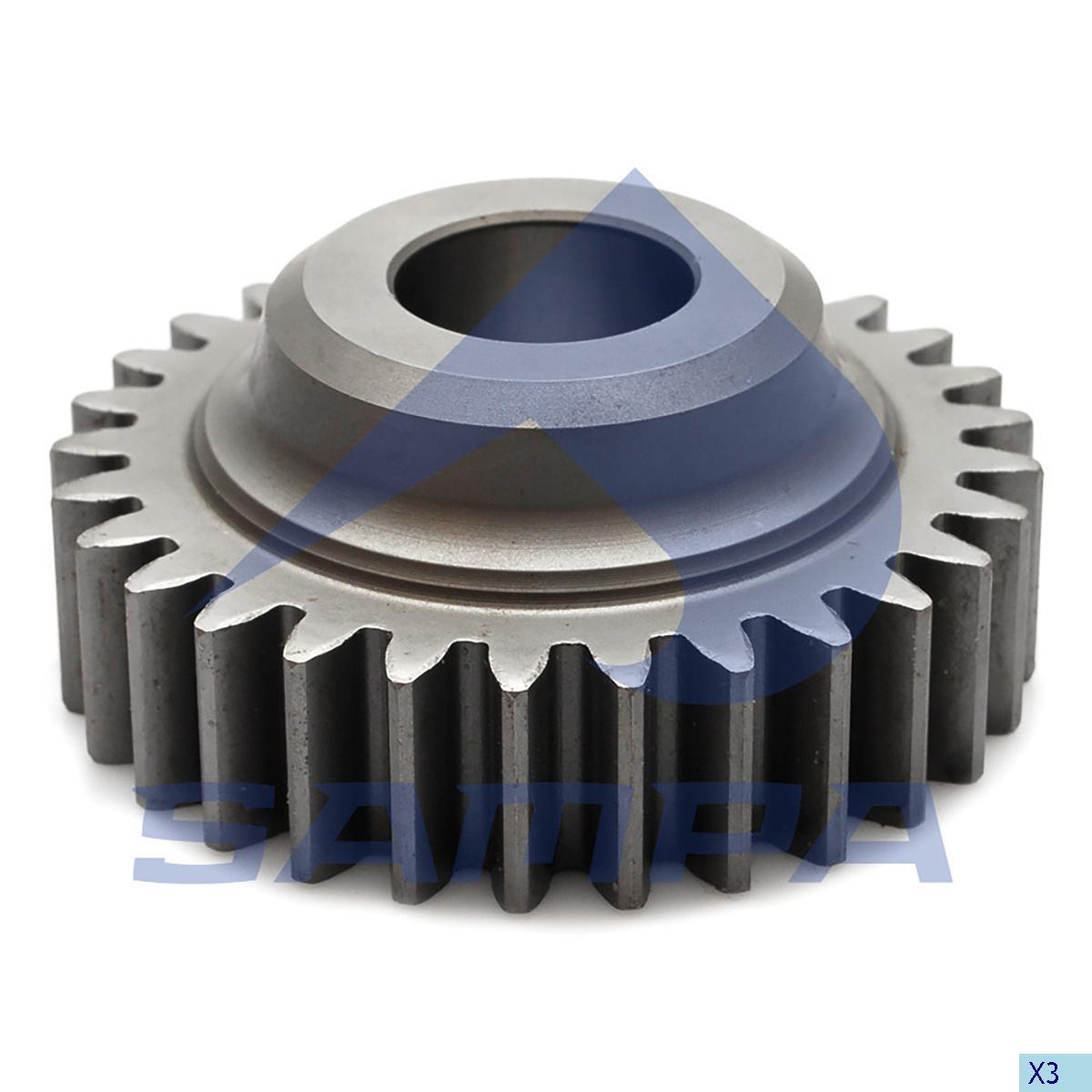 Gear, Compressor, Daf, Compressed Air System