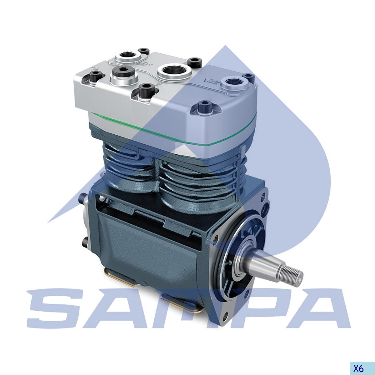 Compressor, R.V.I., Compressed Air System