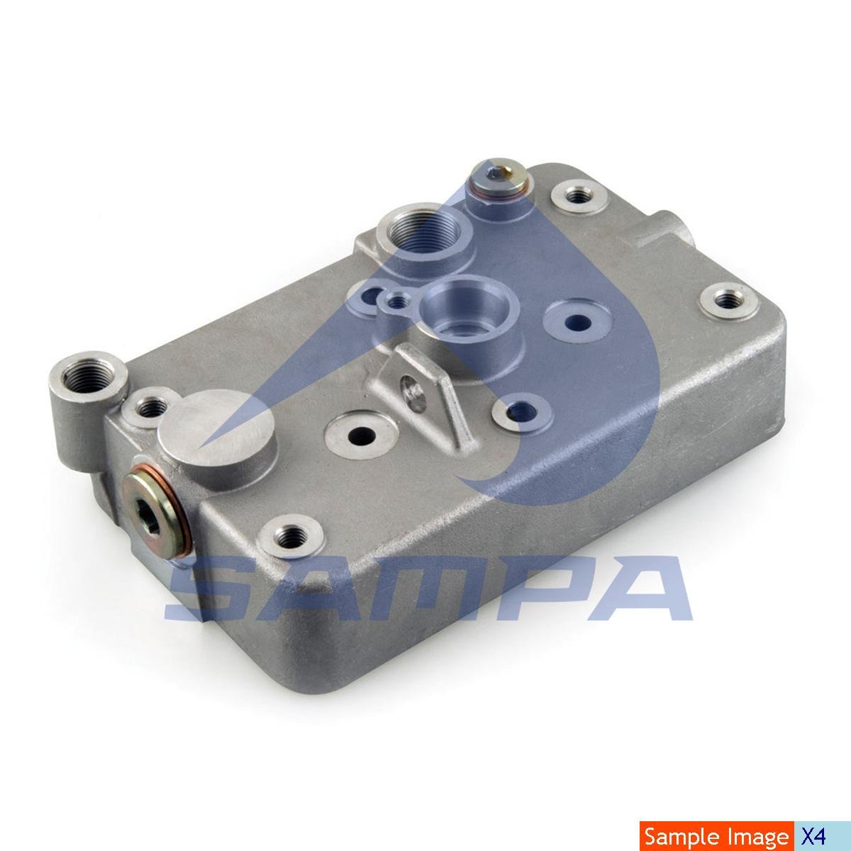 Cylinder Head, Iveco, Compressed Air System