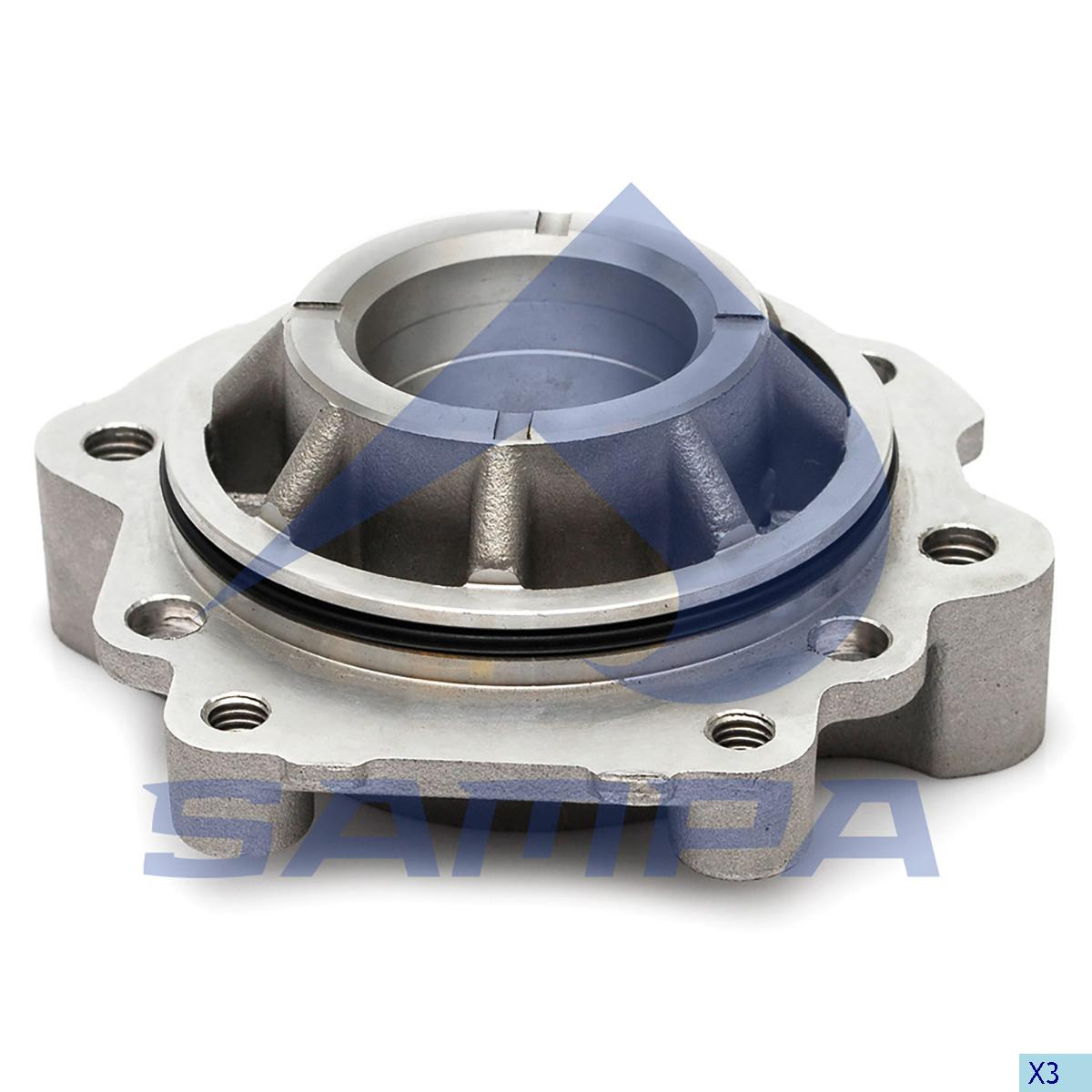 Cover, Cylinder Block, Iveco, Compressed Air System