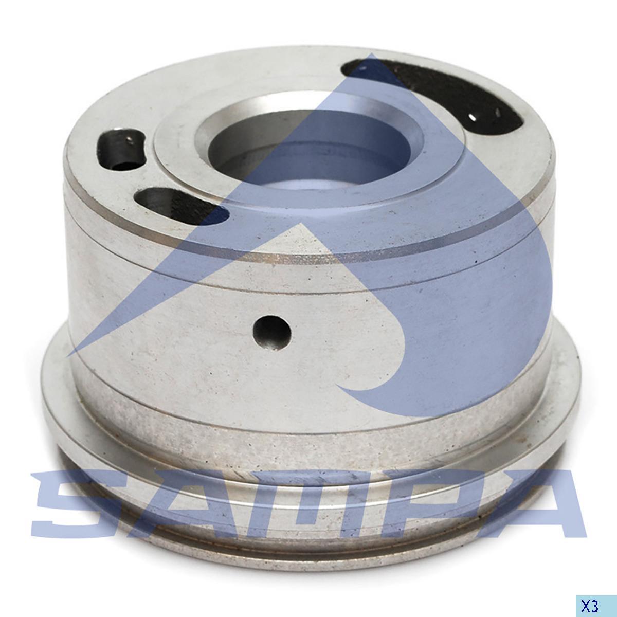 Bearing, Compressor, Man, Compressed Air System