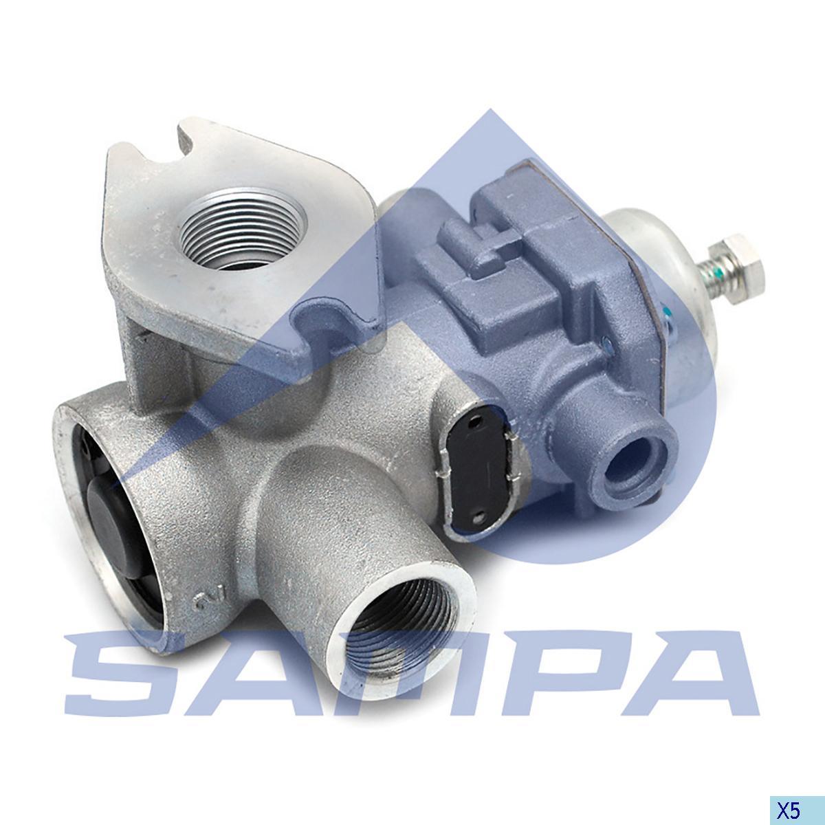 Pressure Control Valve, Mercedes, Compressed Air System