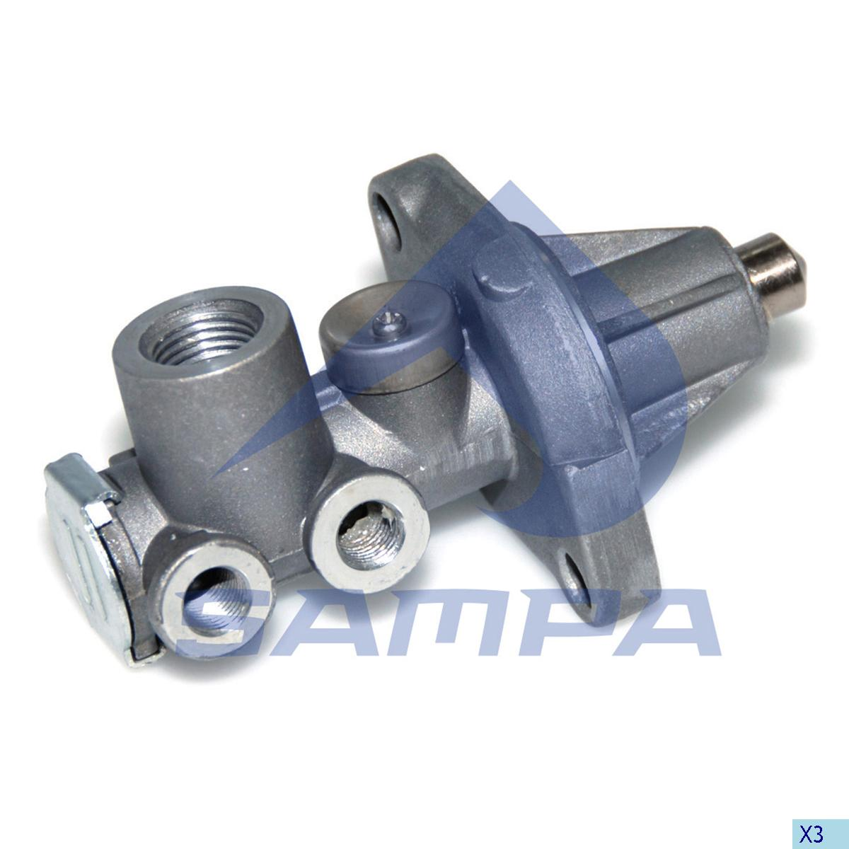 Valve, Gear Box Housing, Volvo, Gear Box