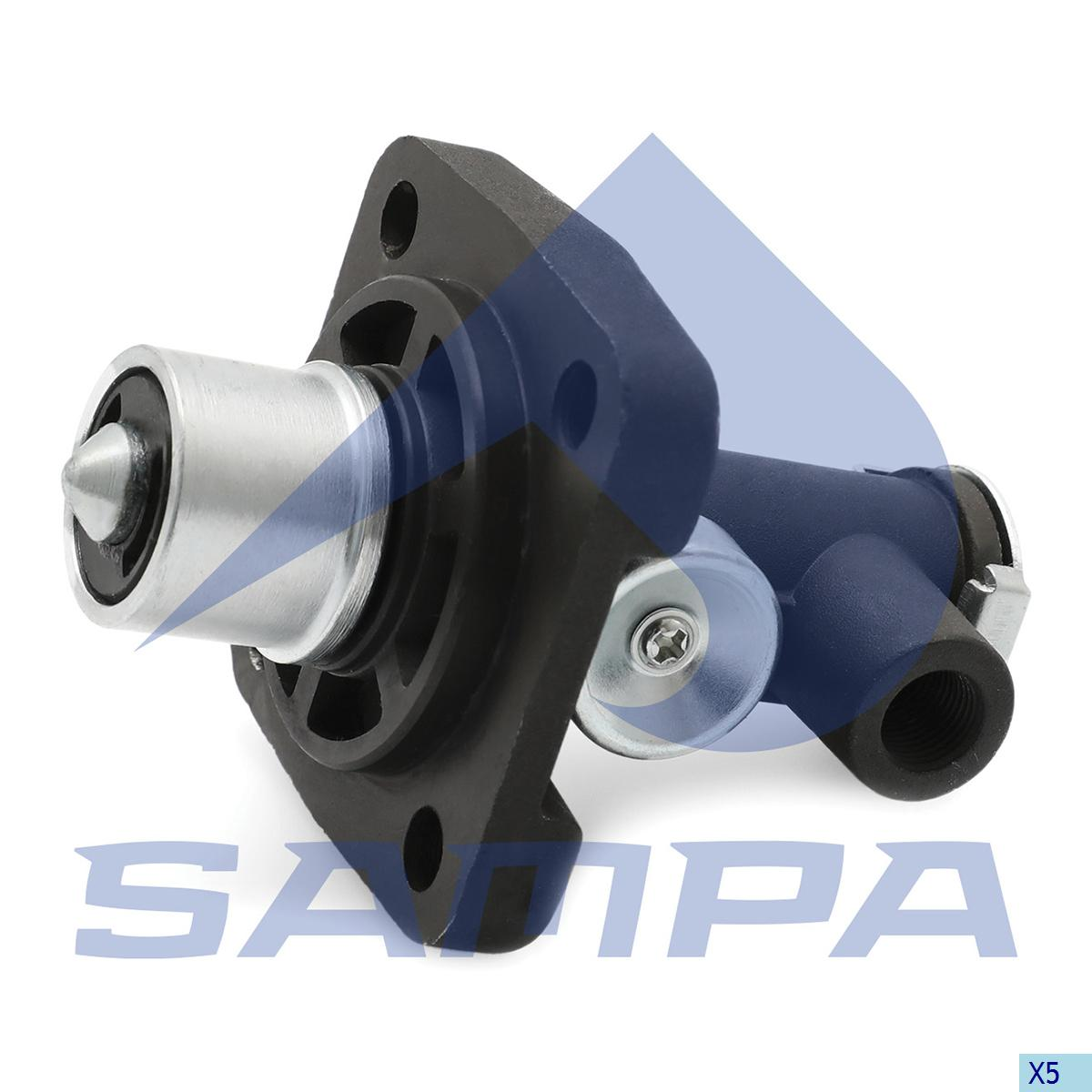 Multiway Valve, Volvo, Compressed Air System