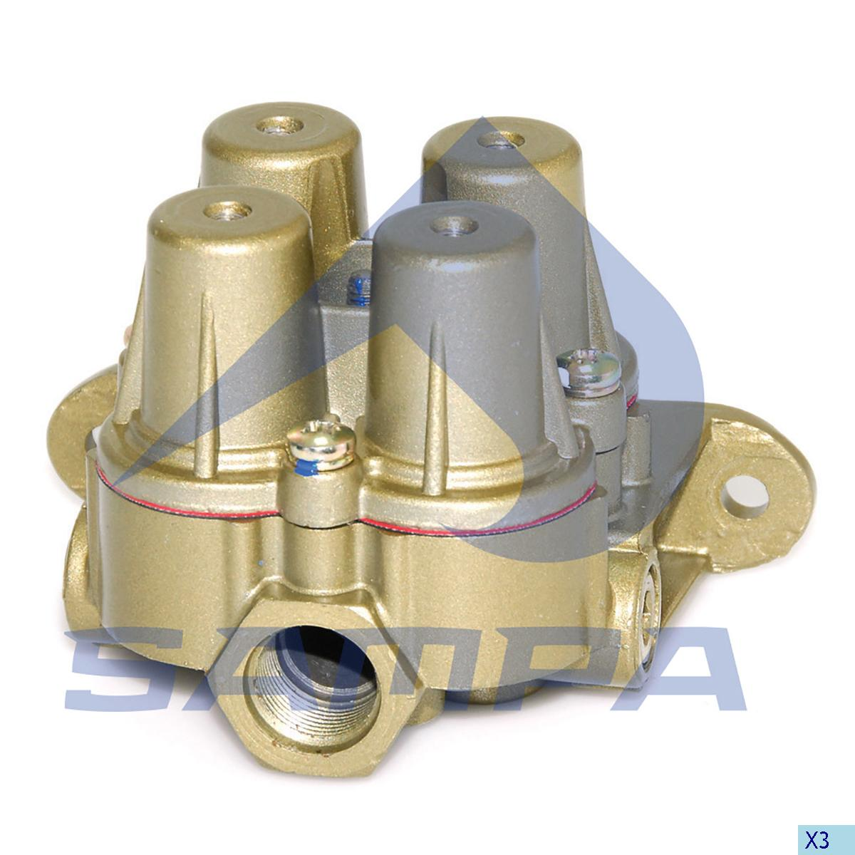 Safety Valve, R.V.I., Compressed Air System