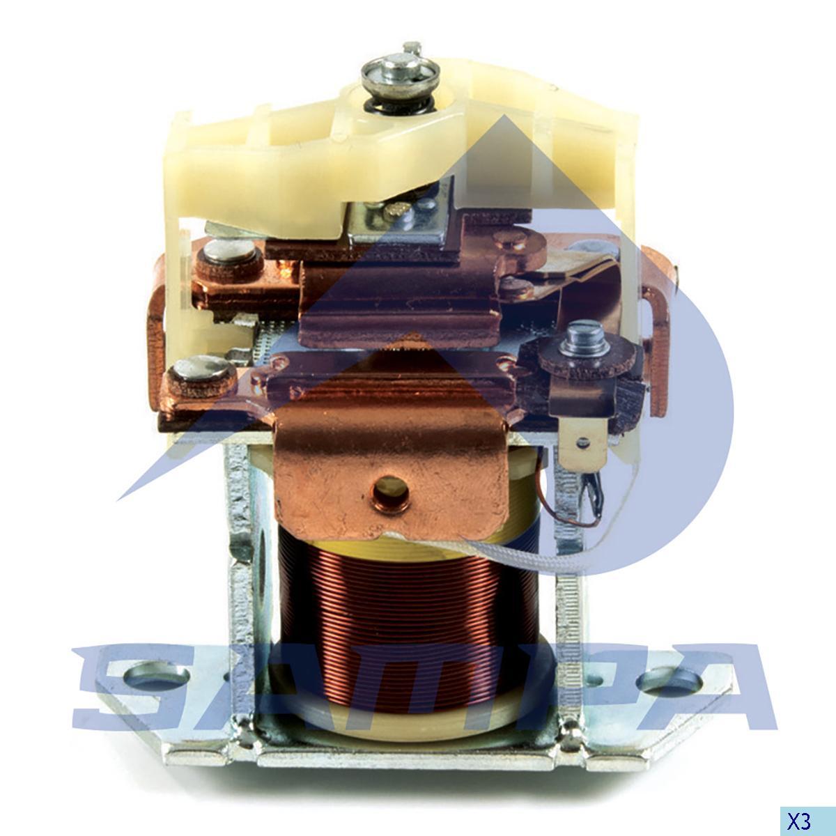 Solenoid, Starter Motor, Daf, Electric System