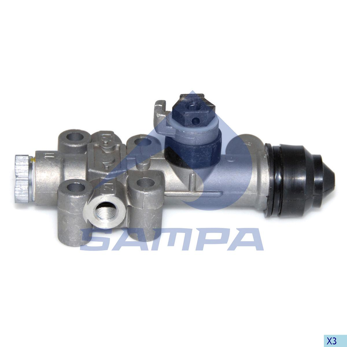 Levelling Valve, Neoplan, Compressed Air System