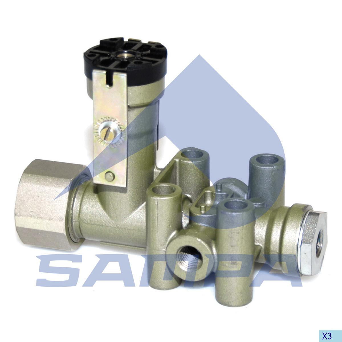 Levelling Valve, Volvo, Compressed Air System