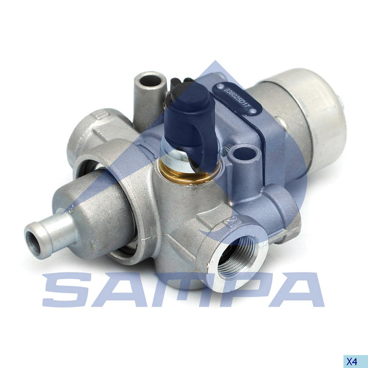 Drain Valve, Daf, Compressed Air System