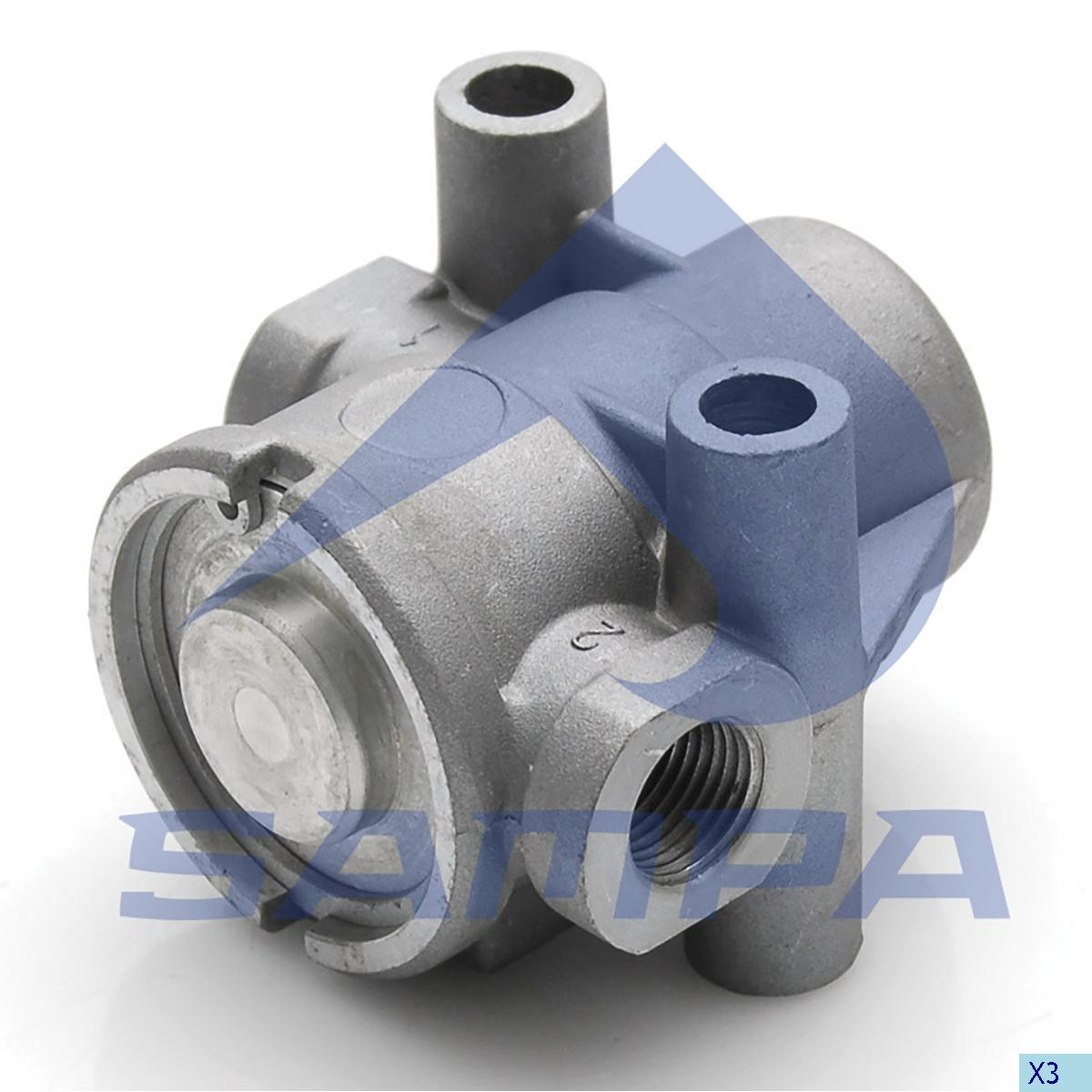 Pressure Control Valve, Iveco, Compressed Air System