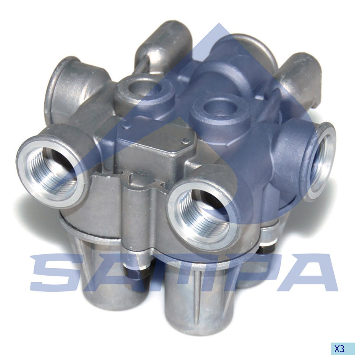 Safety Valve, Mercedes, Compressed Air System