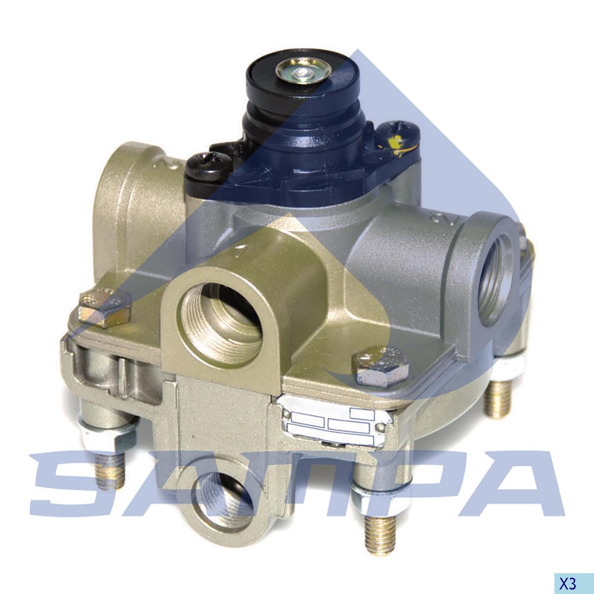 Relay Valve, Man, Compressed Air System