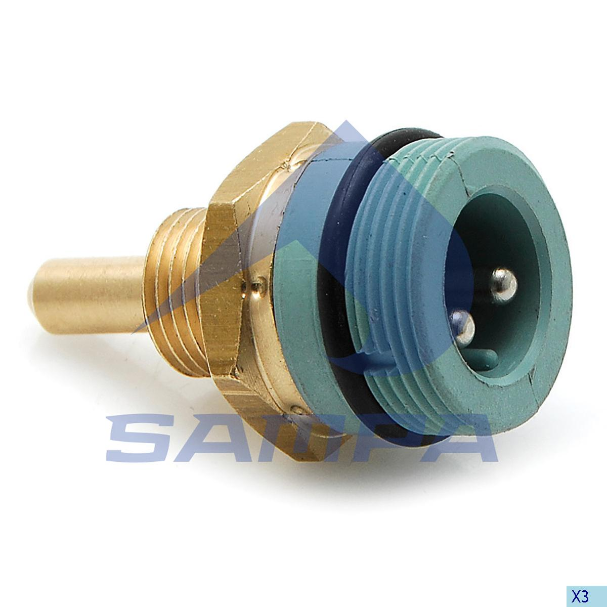 Temperature Sensor, Iveco, Electric System
