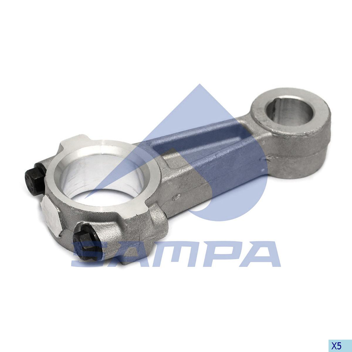 Connecting Rod, Piston, Volvo, Compressed Air System
