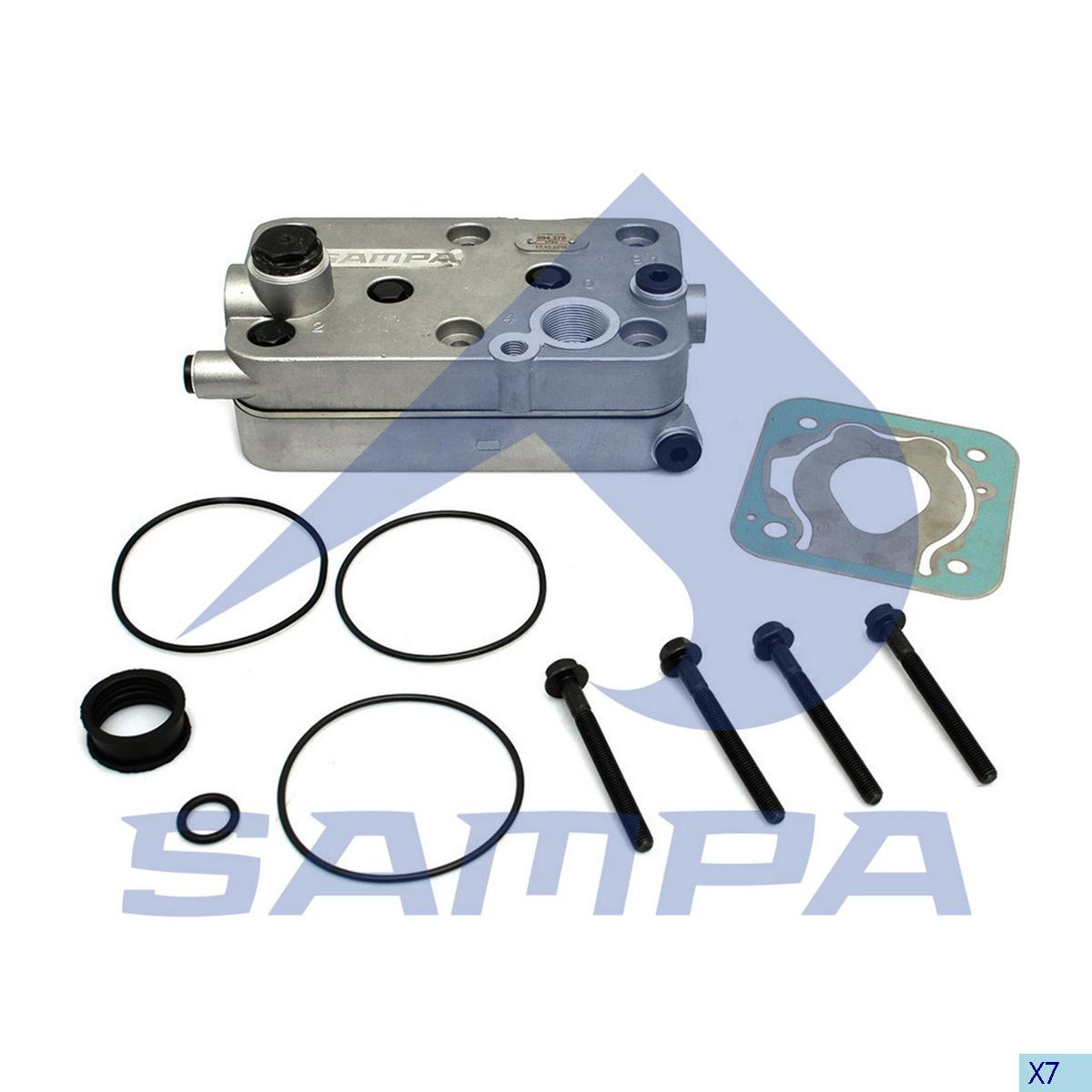Cylinder Head, Mercedes, Compressed Air System
