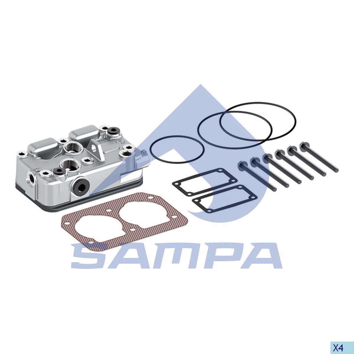 Cylinder Head, Volvo, Compressed Air System