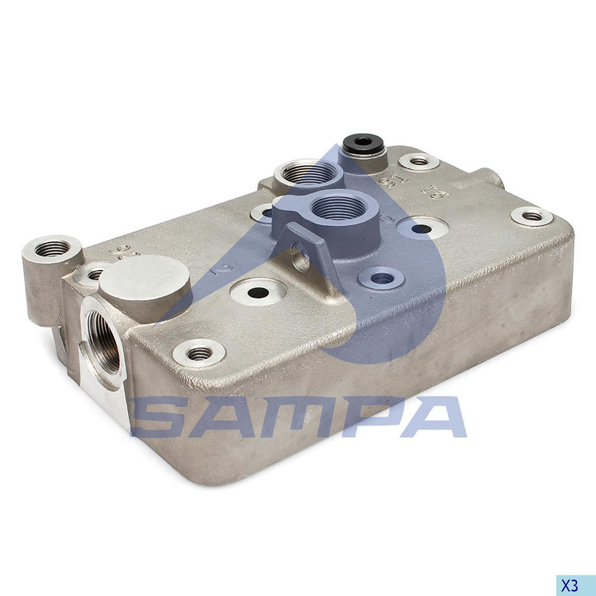 Cylinder Head, Daf, Compressed Air System