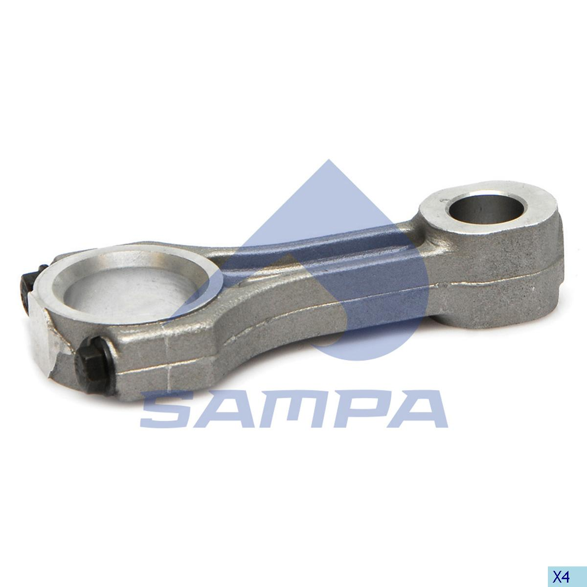 Connecting Rod, Piston, R.V.I., Compressed Air System