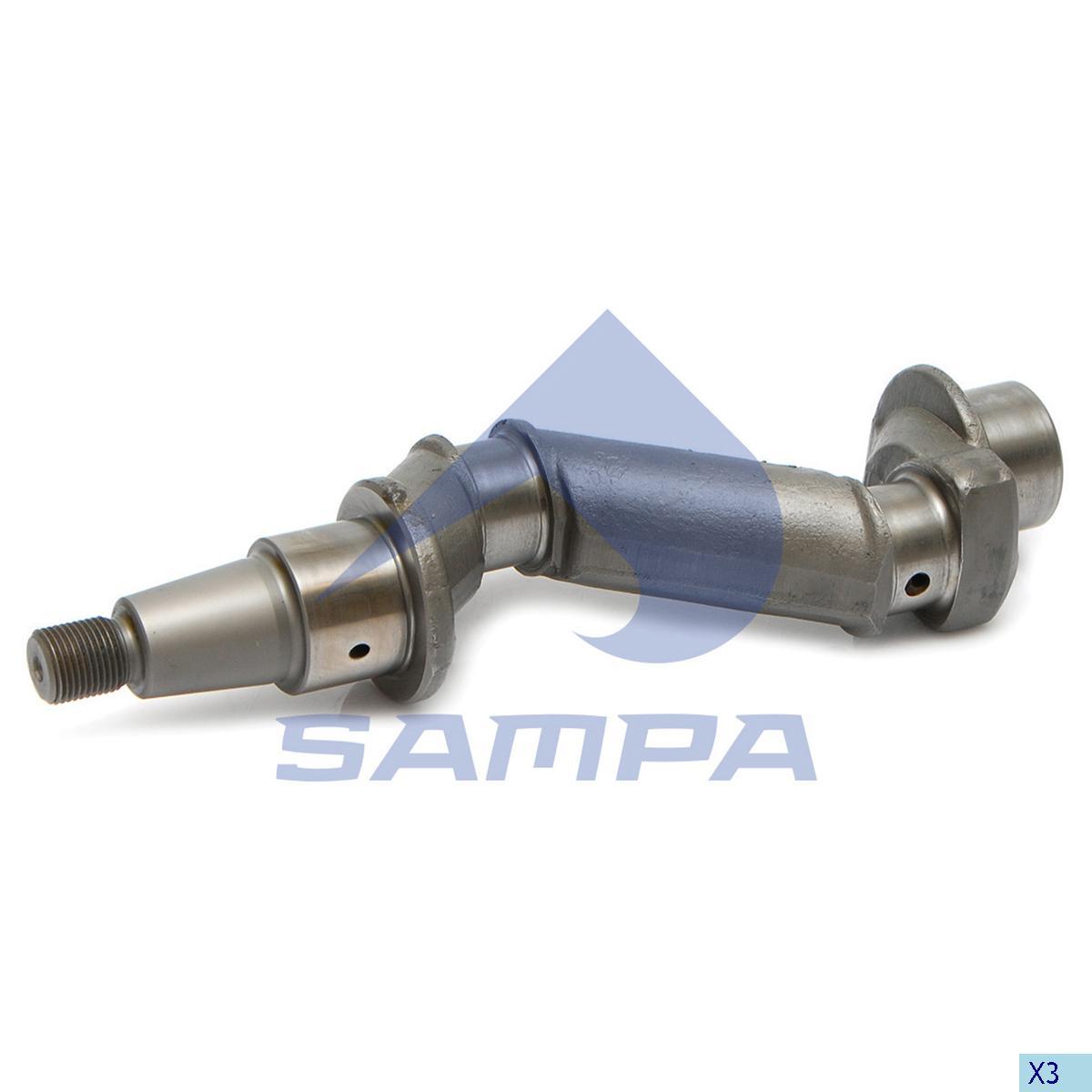 Crank Shaft, Cylinder Block, R.V.I., Compressed Air System
