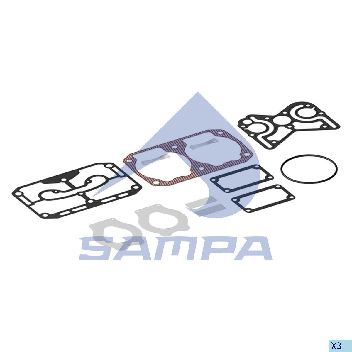 Repair Kit, Compressor, Iveco, Compressed Air System